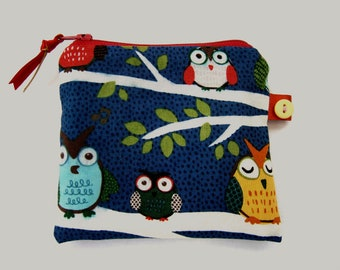 Little Owls Coin  Purse