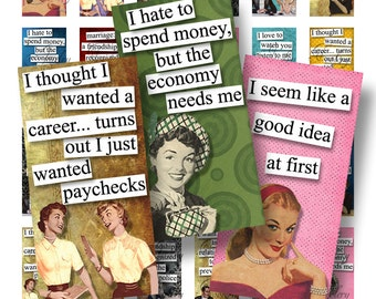 1x2 Domino Collage Sheets Ladies With An Attitude Quotes Scrabble Tile Digital Collage Sheet Images Dominos Words Sayings