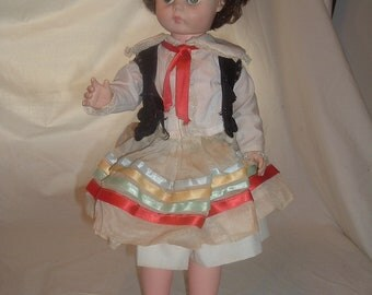 VINTAGE 19 inch full body doll