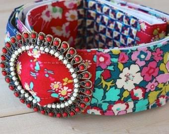 Bloomsbury Liberty of London Patchwork Fabrics Belt