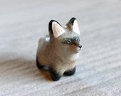 Bat-eared fox pocket totem figurine