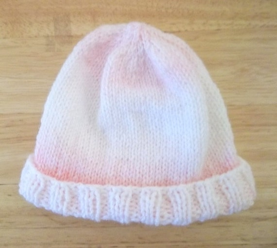 Knitted Hat for Baby Girl