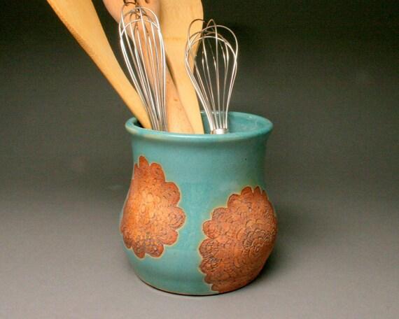 Ceramic Kitchen Utensil Holder Kitchen Tool Caddy