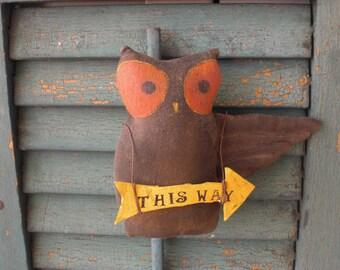 Primitive owl