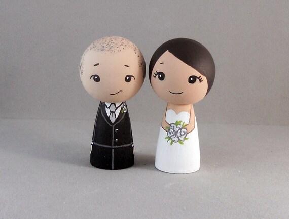 Sweet Couple Wedding Cake Toppers