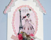 Shabby French Chic Frame Decoration Ornament