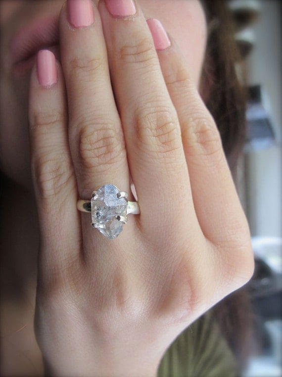 Reserved for Jeny: New York Diamond Rock Ring Set