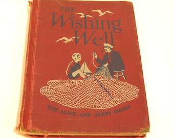 The Wishing Well Vintage Childrens Book