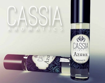 Azure Oil Perfume Light Floral with Citron Apples Jasmine Bamboo