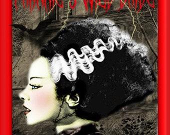 Frankie's Wild Bride Gothic Artisan Perfume Oil 1/8 fl oz