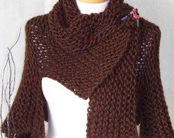 CHOCOLATE, Knitting shrug pattern pdf