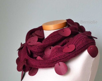 SHAYLA, Crochet scarf pattern pdf