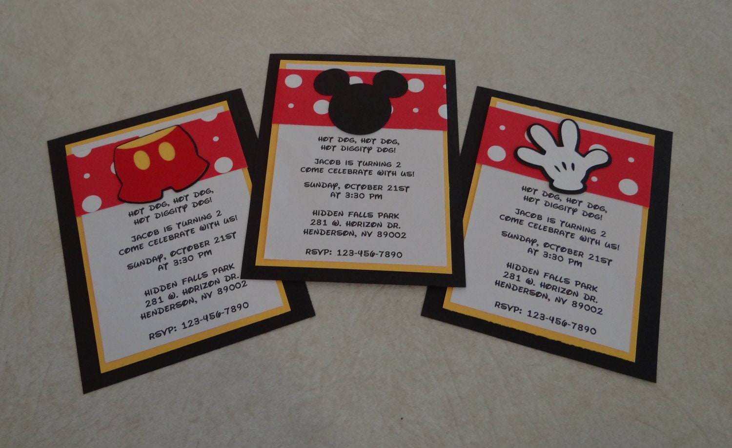 Mickey Mouse 2Nd Birthday Invitations was best invitation example
