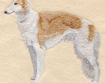 BORZOI (RUSSIAN WOLFHOUND)- Machine Embroidered Quilt Blocks (AzEB)
