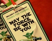 Customized Star Wars Party Printables Gift Bag Tags, Party Favors