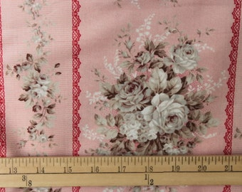 Quilters Cotton Fabric Quilt Gate Classic MR 2060 12A Pink
