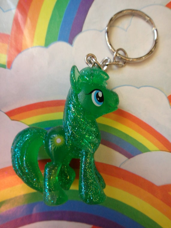 My Little Pony Keychain - Glitter Emerald Ray