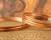 SQUARE Raw Copper Wire - Dead Soft - You Pick 8, 10, 12, 14, 16, 18, 20, 21, 22, 24 gauge - 100% Guarantee - Made in the USA