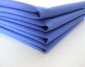 Cloth Napkins - Periwinkle - 100% Cotton
