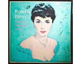 Glittered Roberta Peters Operatic Favorites Album