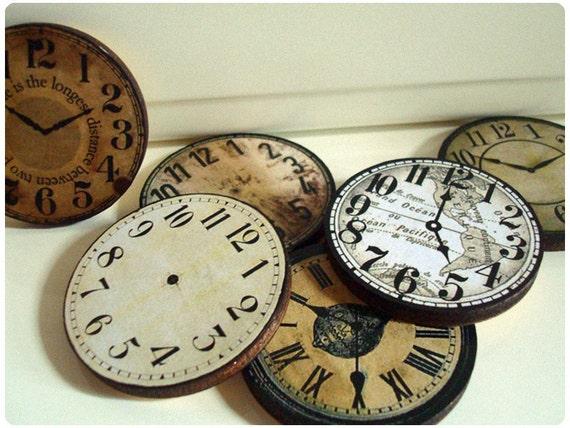 Clock Faces Jumble Mix