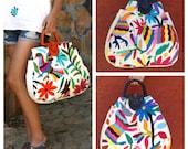 Leather Otomi Handbag Available again