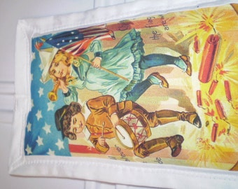 Vintage 4th July Card