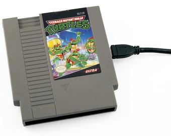 USB 3.0 NES Hard Drive - Teenage Mutant Ninja Turtles