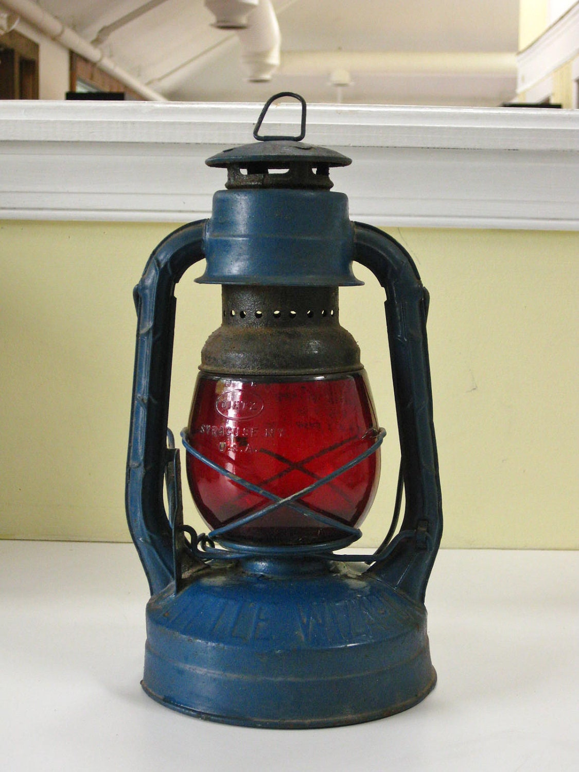 Vintage Dietz Railroad Lantern Little Wizard By