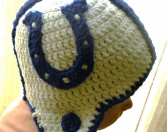 CROCHET PATTERN Colts Crochet Applique