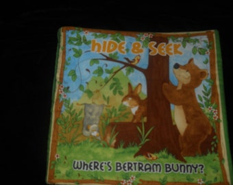 Hide and Seek Cloth Fabric Book lower price was 20.00 now 17.00