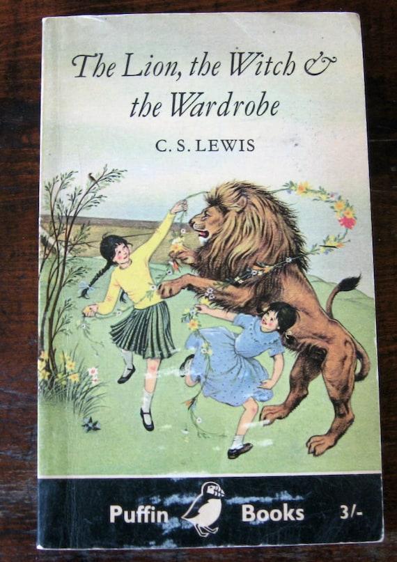 C.S. Lewis Narnia Books Vintage Puffin Paperbacks - Five Titles