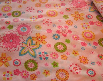 Fabric sale-One yard of Cotton Girl's Fabric
