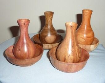 Budvase with matching bowl