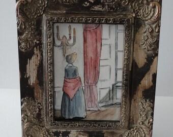 Jane at  Gateshead 5x7 art print  Jane Eyre, Charlotte Bronte