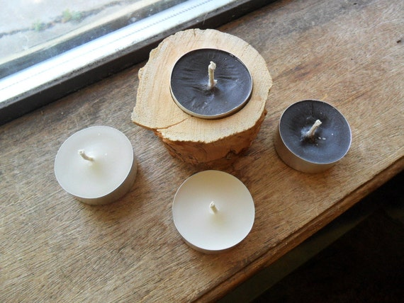 Bite me scented, tea light candles, handmade tealights (4) DISCOUNTED