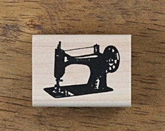 Antique Style Sewing Machine Stamp, U3349