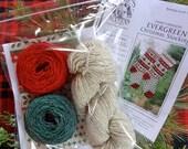 Scandinavian Christmas Stocking Knitting KIT