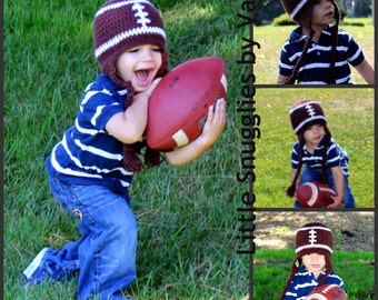 LSBV Football Hat Infant-Adult Sizes Available