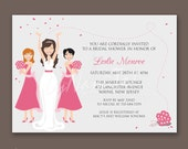 Bridal Party - Bridal Shower Invitations
