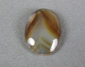 Montana Agate Cabochon for wire wrap bead or silver smith jewelry