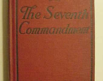 The Seventh Commandment Elinor Glyn Romance Drama Novel Antique Victorian