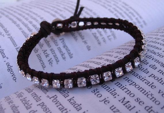 Fire & Ice bracelet (brown)
