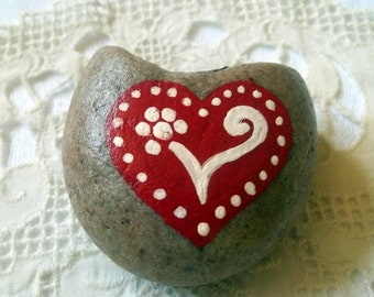 Heart Rock Art