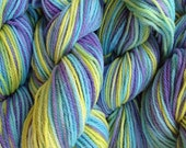 Merino Wool Yarn DK Sport Weight Handpainted Hand Dyed in Mermaid Cove