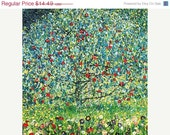 Christmas Sale 40% OFF Modern Cross Stitch Pattern  PDF -Apple Trees - Klimt Counted Cross Stitch Chart PDF by Abracraftdabra