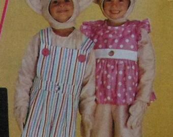 Treasure Troll Costume Sewing Pattern UNCUT Child sizes 7-8 McCalls 6314 Treasure Trolls
