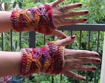 50% off butterfly fingerless gloves