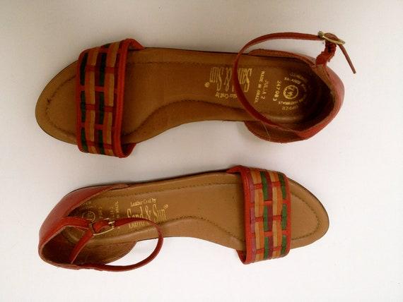 Vintage Brazilian Leather Sandals