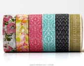 Pattern Washi Tape - CHOOSE ONE Scrapbook Embellishment